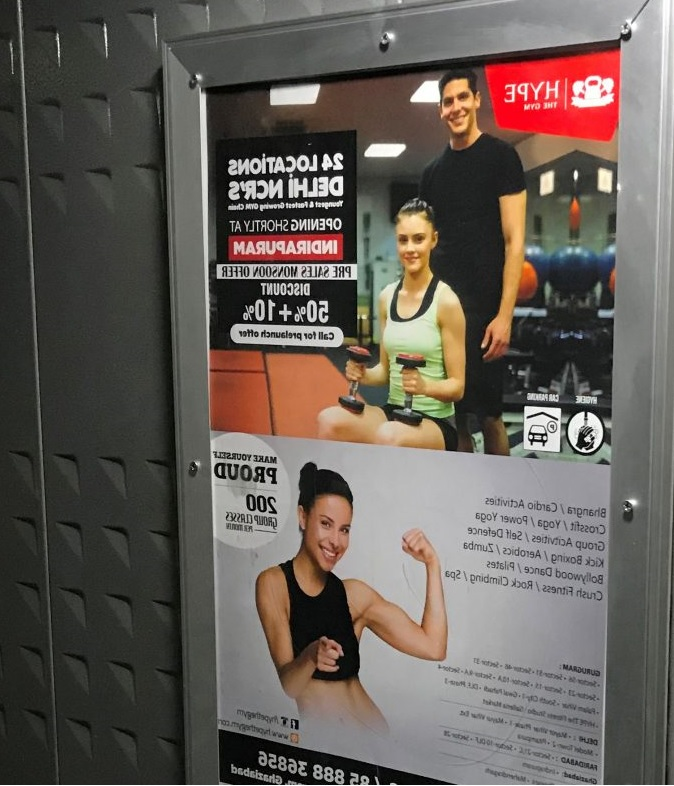 Lift Branding ,Lift advertising Delhi, Gurugram Elevator Branding,Lift advertisement in Noida