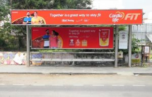 Bus Shelter Advertising in Chennai