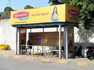 Bus Shelter Advertising in Indore