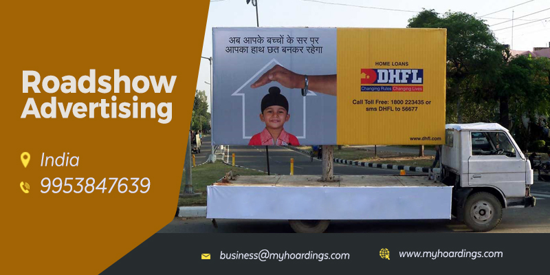 MyHoardings is India's leading Roadshow Advertising agency with services in all major Indian cities. Roadshow advertising can help you boost brand awareness