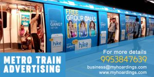 Complete Metro Train Wrap, Metro Station Branding,Railway branding, metro advertising company in Delhi, Chennai metro advertising