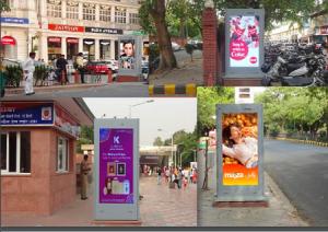 DOOH Ad Options in Delhi