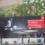 Advertising on HPCL Petrol pumps across India