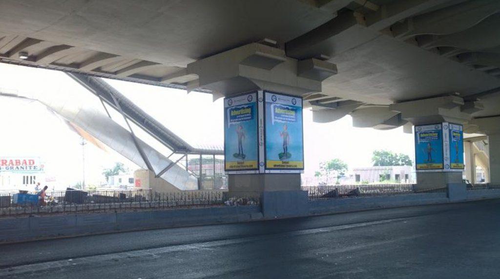 Metro Pillar Advertising, metro rail advertising, pillar branding, rail advertisment, hyderabad advertisement