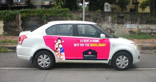 Car Branding Campaign, Car Branding the the most trending way of advertisement in india