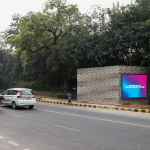 Delhi's Lutyens Zone Advertising through Smart Digital Screens