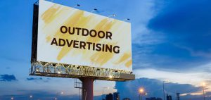 traditional hoardings Ad