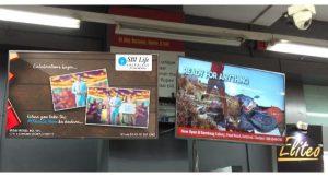 DOOH, Digital Out of Home Advertising, Digital OOH, Digital screens, Ambient Media, Display screens, Prime DOOH Media