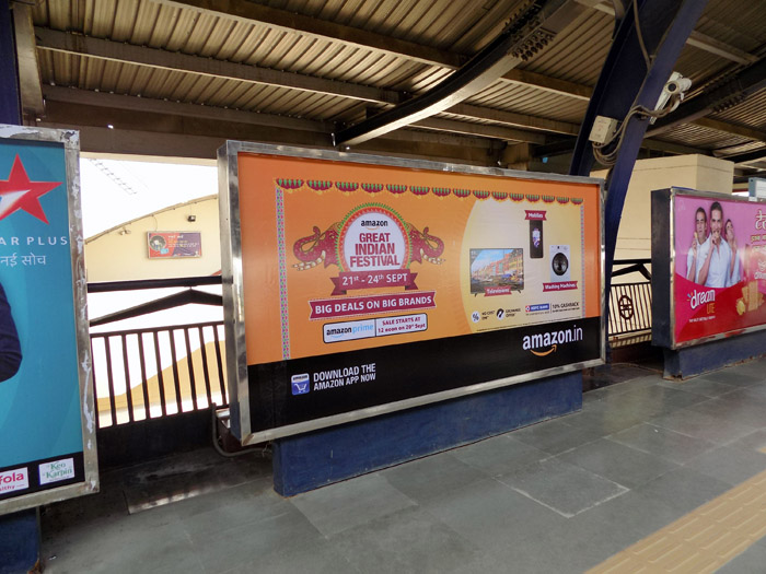 Advertising Options On Metro Stations
