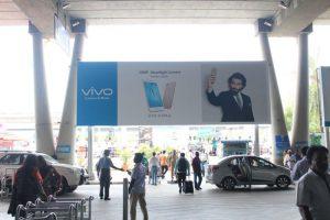 Ad options on chennai airport, chennain airport advertising, airport branding
