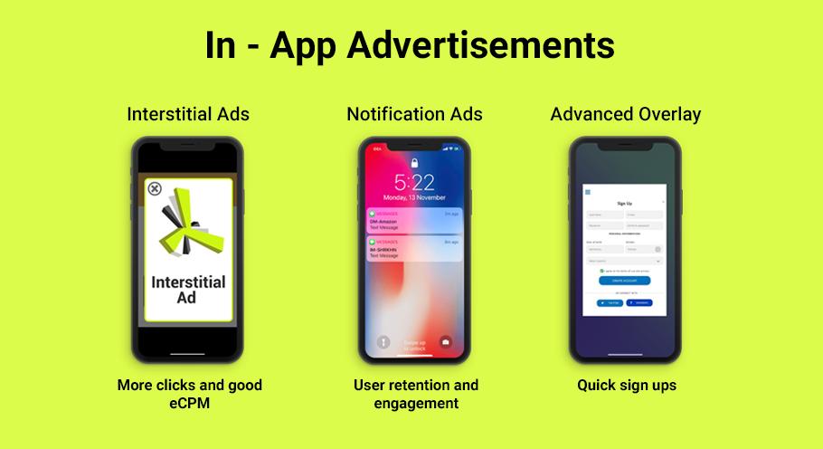 In-app-advertising