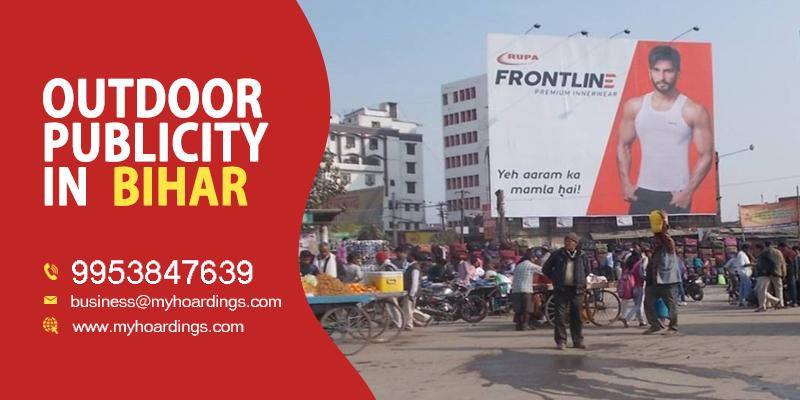 Hoardings in Patna, Bihar Outdoor Publicity campaign