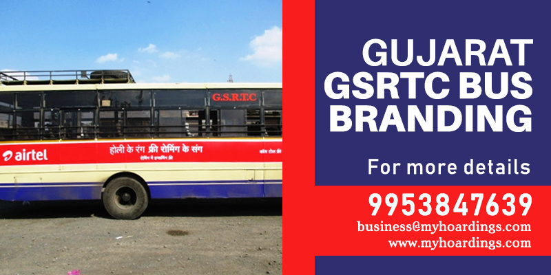 Bus Branding company in Gujarat,Bus Ads Rates in GSRTC Buses,Bus branding agency in Gujarat,Complete GSRTC Bus Exterior Advertising Agency.