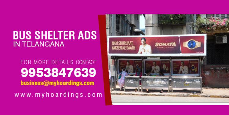 Telangana Bus stop branding,Bus Q Shelters in Telangana,Bus seat advertising,Advertise on bus stops,Cost of BQSbus advertising in Telangana