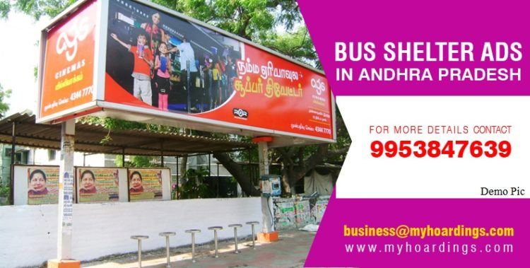 Bus Shelter Branding in Andhra Pradesh,Bus Shelter Advertising Agencies in Andhra Pradesh, Bus Stop and Bus Shelter Ad Services,Display Ads on Bus Stops in AP
