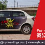 Ola car Branding